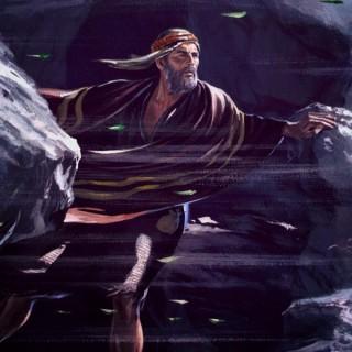 Elias no monte Horebe